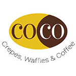 COCO Crepes, Waffles & Coffee logo