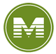 M icon for METRORail Green Line