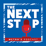 The Next Stop Podcast Logo
