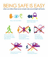 Being safe is easy flyer