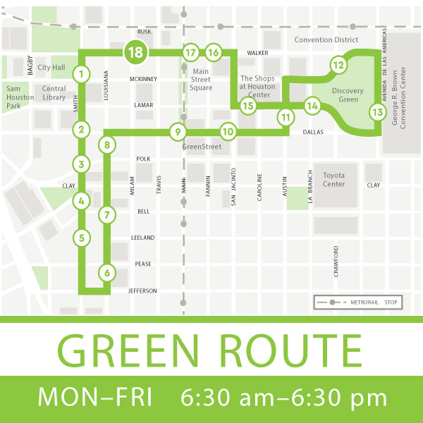 Green route Map